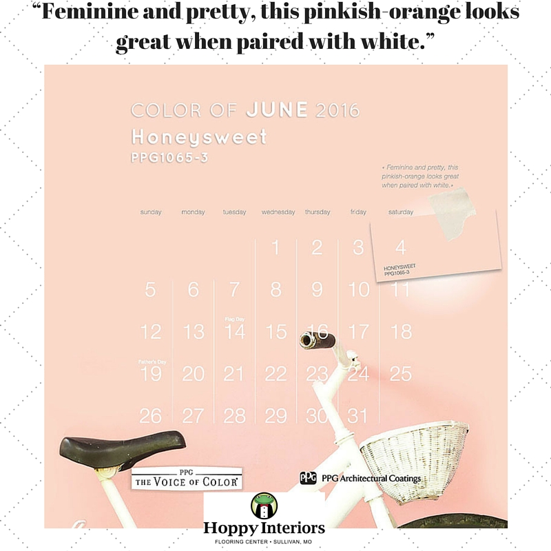 """""""Feminine and pretty, this pinkish-orange looks great when paired with white."""" (1)"""